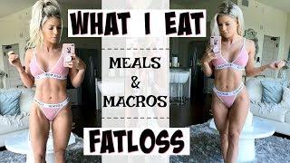 FULL DAY of Eating | FATLOSS