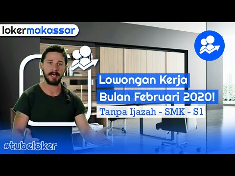 Lowongan Kerja 2020 Makassar Youtube