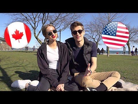 знакомства канаде америке