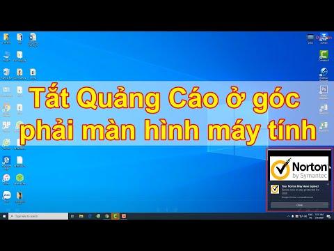 Tắt Quảng Cáo ở góc phải màn hình máy tính 2020