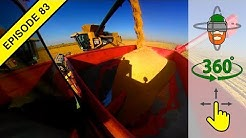 "California's Unique Tractor: The ""Bankout"" aka Auger Wagon in Virtual 360º Action!"