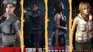 Resident Evil HD + Resident Evil 2 Remake + Residente Evil 3 +Silent Hill 3 - En Español