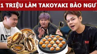 1 triệu làm Bánh Takoyaki Bào Ngư tại nhà và cái kết... | Oops Banana V10g 176