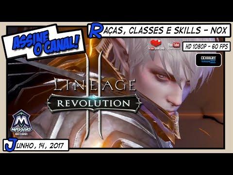 LINEAGE 2: REVOLUTION | Raças, Classes e Skills - NOX Emulador