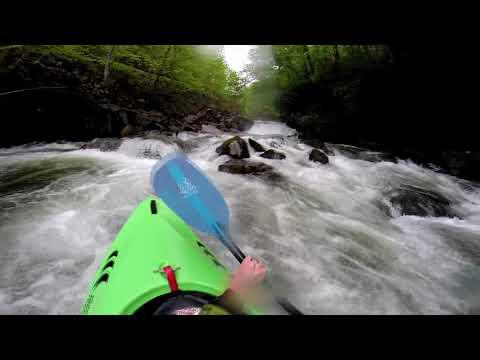Prijon Curve Creek 3.5 on Nantahala Cascades at ~275 cfs