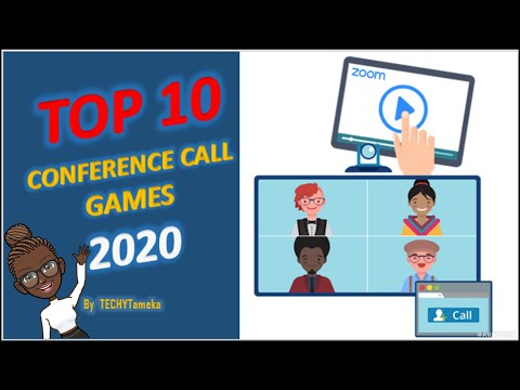 10 FUN ZOOM OR WEB CONFERENCE CALL GAMES FOR LOCKDOWN FUN