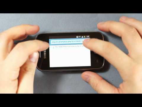 Samsung S5360 Galaxy Y - Internet, music - part 2