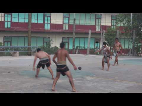 Poktapok Maya ball game