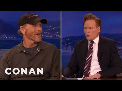 Ron Howard & Conan Sing