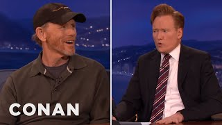 "Ron Howard & Conan Sing ""The Music Man""  - CONAN on TBS"