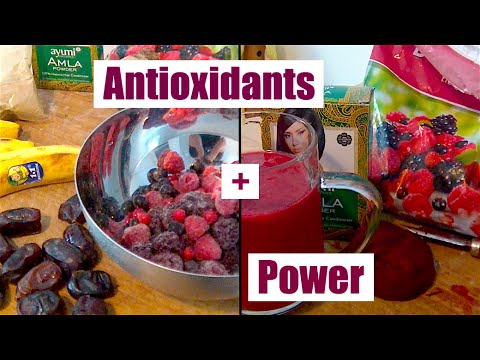 Efficient Cuisine: Antioxidant Smoothie | Performance Enhancing, Age Reversing!