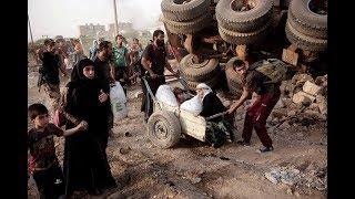 تنظيم الدولة على شفا الانهيار بالموصل بعد محاصرته في ٣ أحياء..و١٠٠ الف مدني مهددون بالموت-تفاصيل