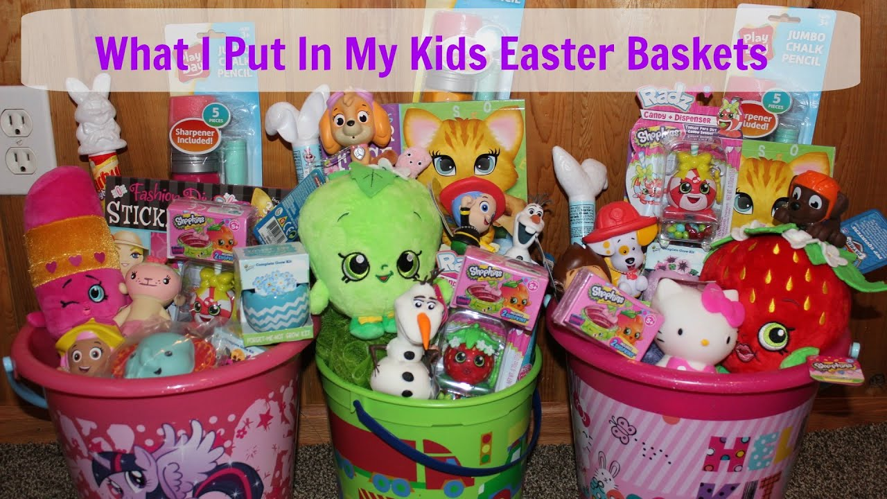 Easter basket ideas 2016 youtube negle