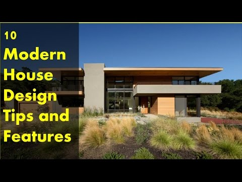10 Modern House Design Tips and Features - YouTube