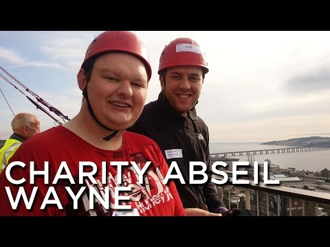 2012-08-25 'Wayne Abseiling For Maggies Cancer Caring Centres'
