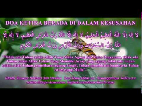 Doa  Ketika dalam Kesusahan _ Doa Rasulullah saw