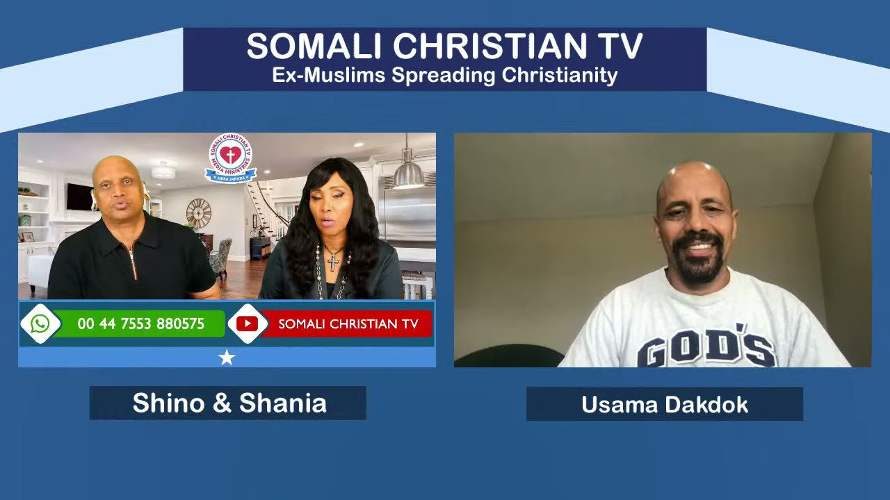 ALLAH IS NOT THE GOD OF THE BIBLE WITH USAMA@The Straight Way of Grace Ministry @Somali Christian TV