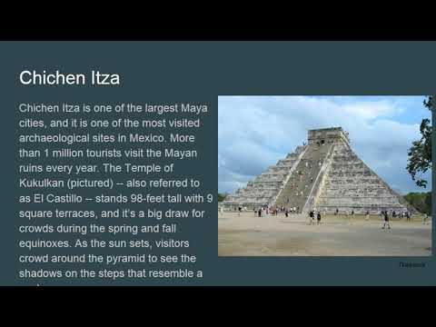 Ruins of the Ancient Mayan Civilization