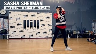 SASHA SHERMAN // Travis Porter - Blue Flame