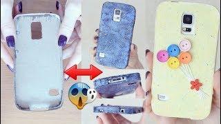 Kartondan Gerçek Telefon Kılıfı! 😱 Kendin Yap | DIY Phone Case From Cardboard