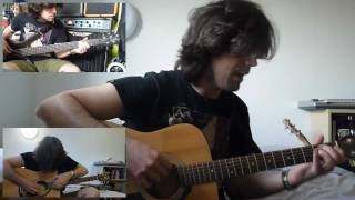 Kino - Noch (���� - ����) | Vocals + Bass + Guitars cover