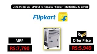 Usha Stellar ZX - CP206T Personal Air Cooler (Multicolor, 20 Litres)