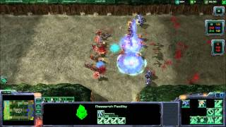 Starcraft 2 - Colonial Line Wars Custom Game
