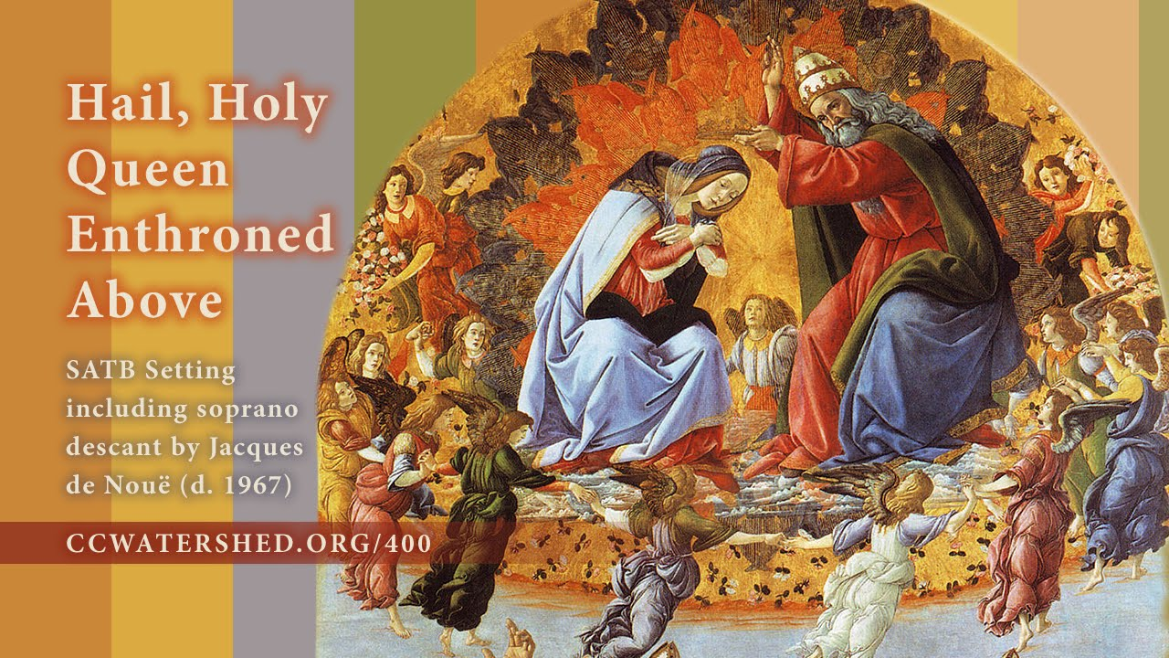 """Hail, Holy Queen Enthroned Above"""" • Nine Organ Accompaniments"""