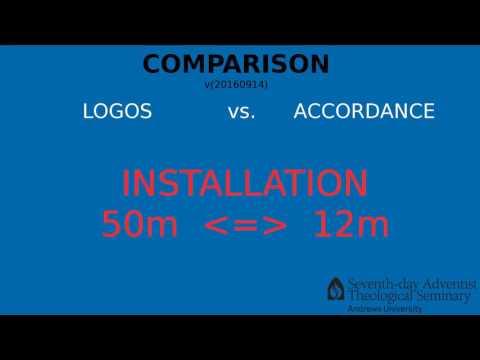 Comparison: LOGOS vs ACCORDANCE
