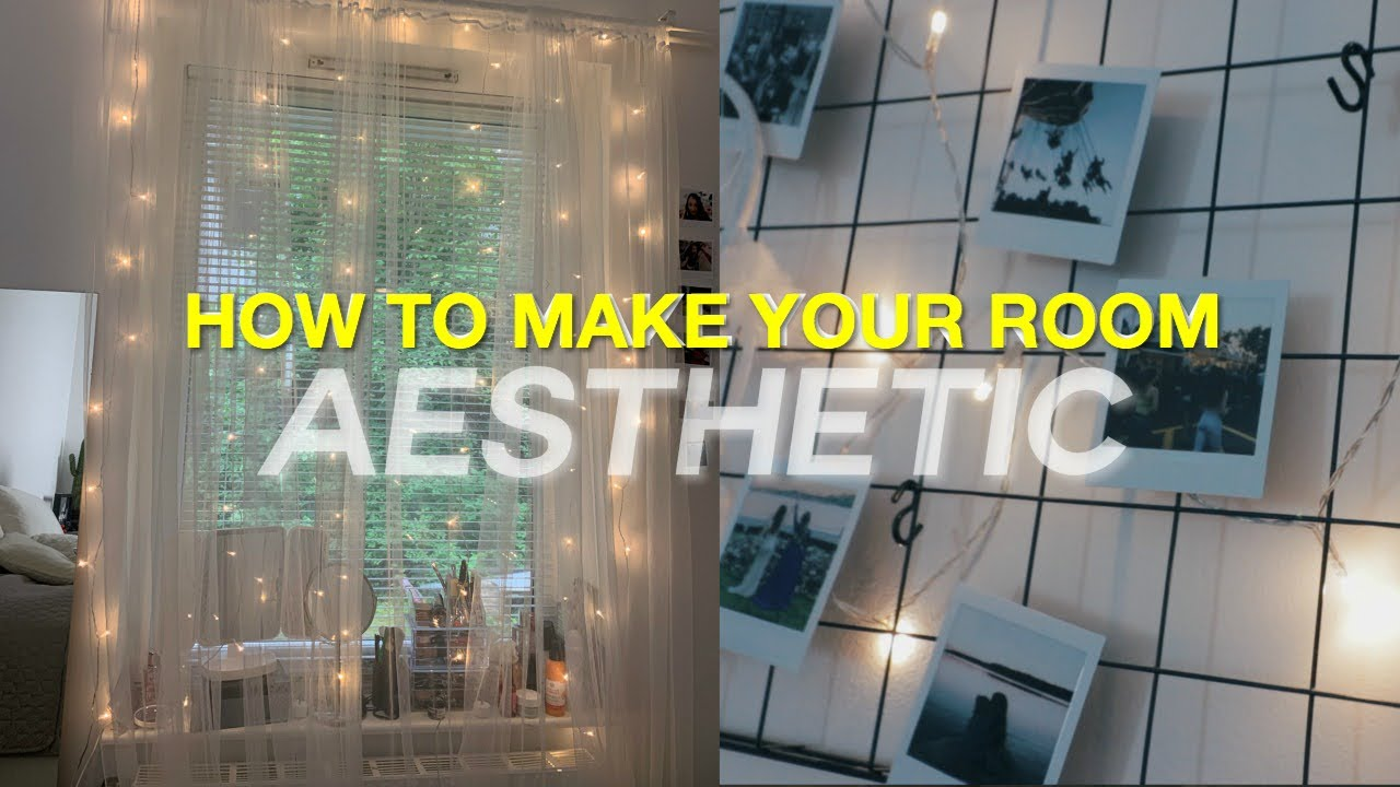 How To Make Your Room Aesthetic Diy Room Decor Youtube