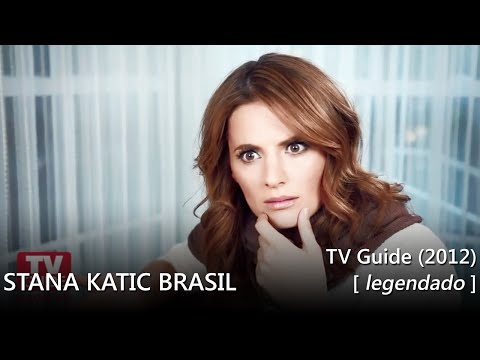 TV Guide Magazine: Stana Katic - 2012 (legendada)