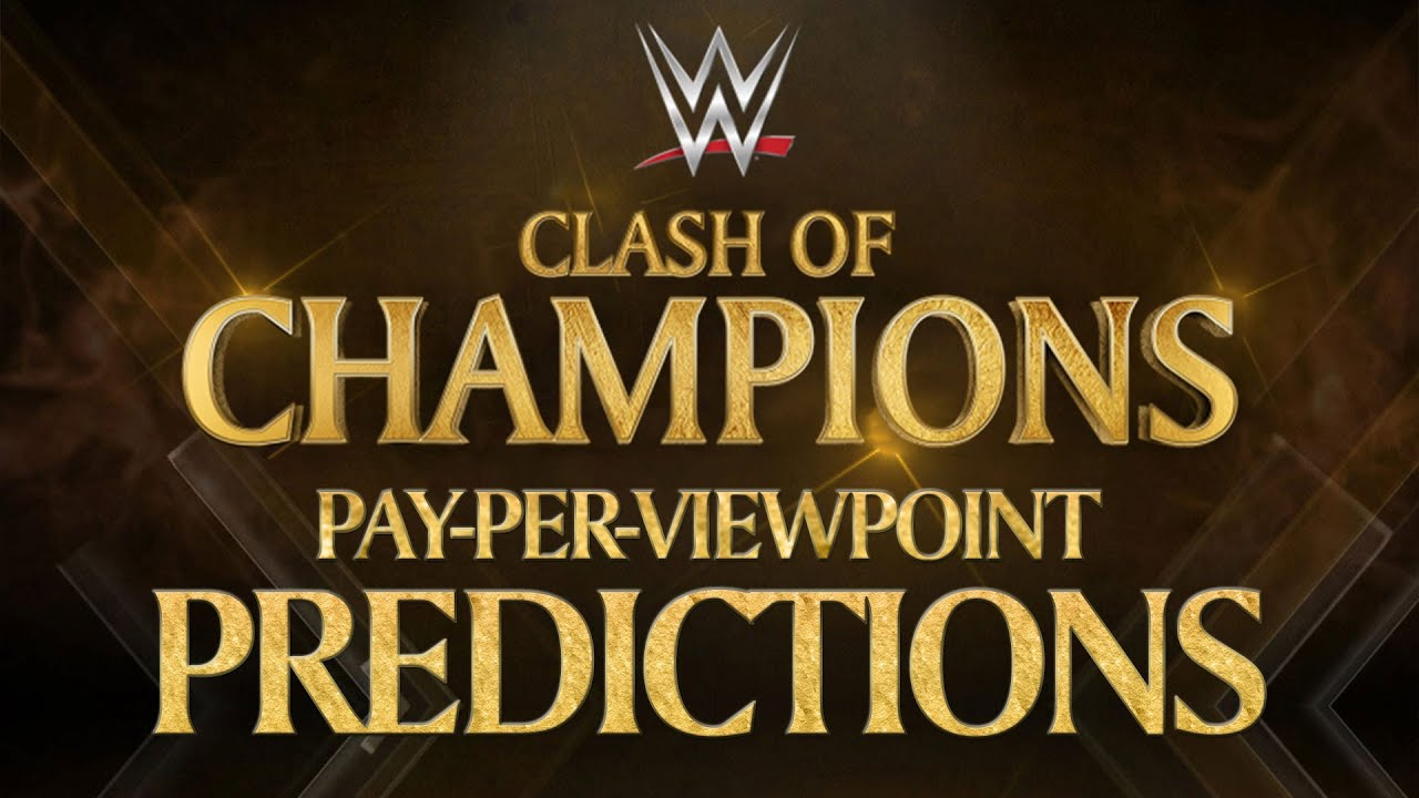 Download WWE CLASH OF CHAMPIONS 2016 PPV Event Match Card and Predictions Rundown