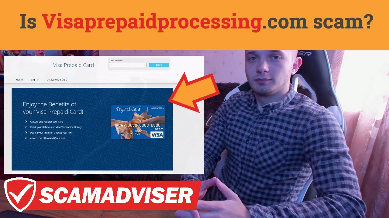 Visaprepaidprocessing.com - legit or scam? Should you use it for