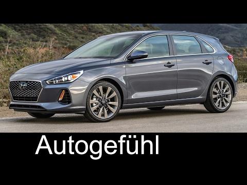 Hyundai Elantra GT Hyundai i30 Preview Exterior Interior 2018 all new neu Autogefhl