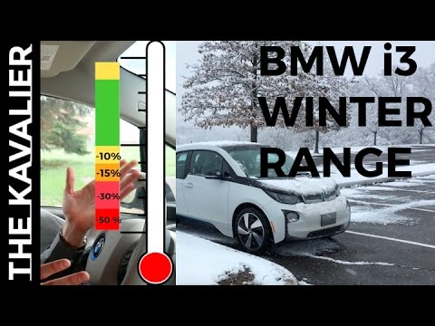 Electric Car Range In Winter 50 Reduction Bmw I3 Driving Stats