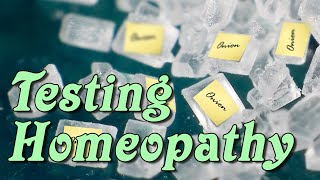Testing Homeopathy - Part 1: Plausibility