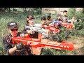 LTT Nerf War : SEAL X Warriors Nerf Guns Fight Criminal Group Swat Super Class