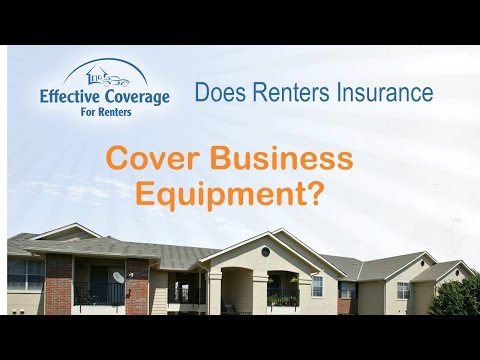 Does Renters Insurance Cover Business Equipment In My Home Office?