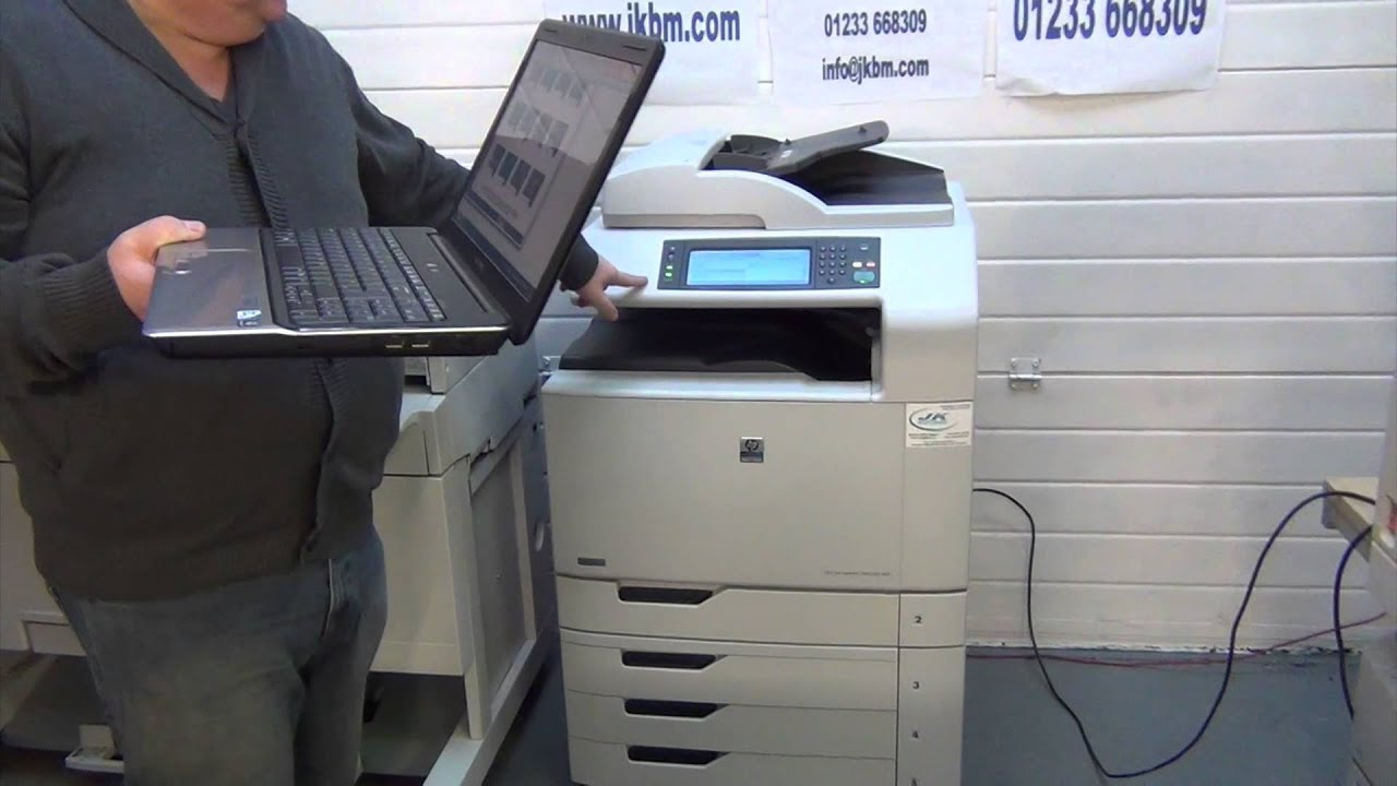 Hp Cm6040 Mfp Used Photocopiers Reconditioned