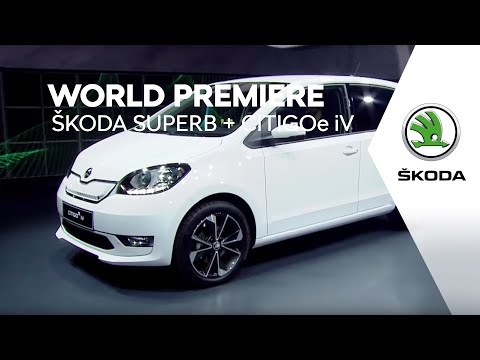 World Premiere of the ŠKODA SUPERB and CITIGOe iV - Highlights