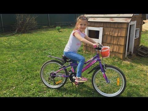 Велосипед для ребенка. Велосипед Новатрек Novatrack. Обзор )) и прогулка
