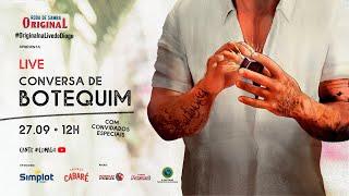 LIVE CONVERSA DE BOTEQUIM #OriginalNaLiveDoDiogo #EmCasaComDiogo|Diogo Nogueira Oficial