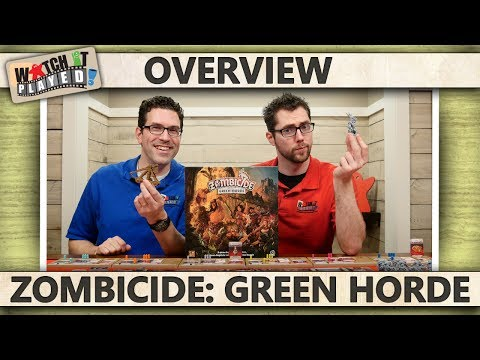 Zombicide: Green Horde - Game Play Overview