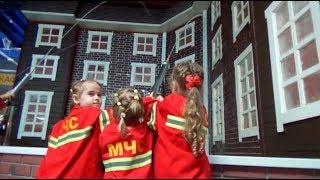 Bad kid Вредные дети играют в городе профессий Кидбург Развлечения для детей Funny video for kids