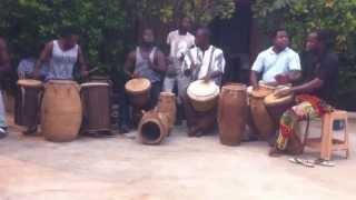 Kusun Djembe Drum circle