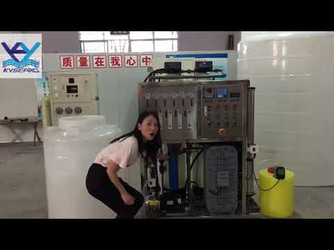 The Professional Introduce with 250LPH Ultra-pure Water Project-Kangyang Desalination Equipment