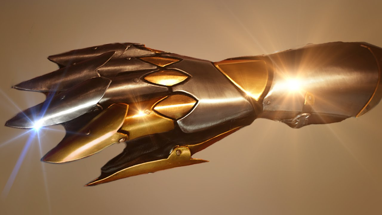 Dark Hero Gauntlet Tutorial - Armor Archives - YouTube