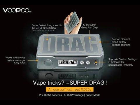 รีวิว กล่อง VOOPOO Drag 157W Box Mod GENE Chip (ฺBy VOOPOO)