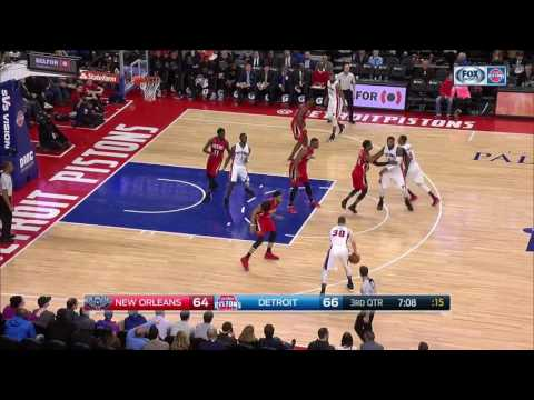 Detroit Pistons Offense Highlights | February 1, 2017 | 2016-17 NBA Season