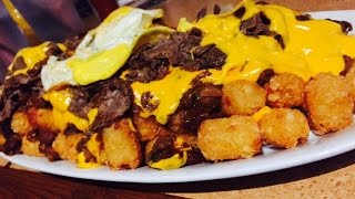 "The ""teds Tater Tot Challenge"" (5lbs Of Tots + Cheese-steak)"